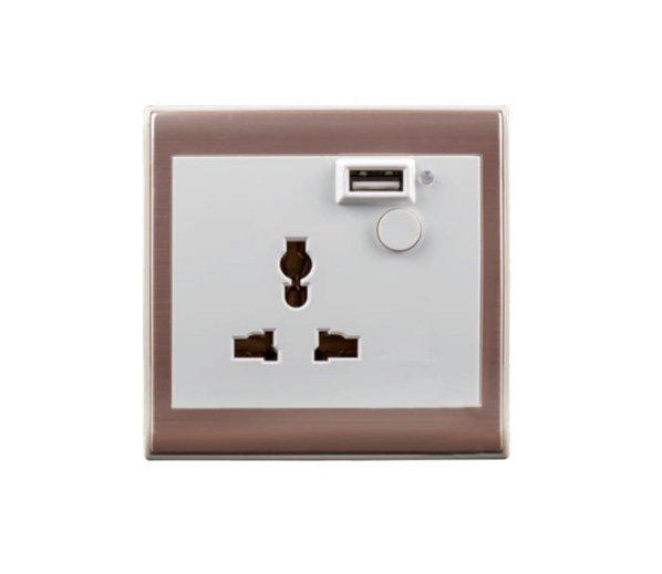 智能墙面安全插座RSK-ZWK-1